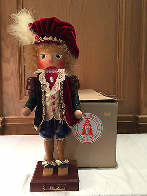 "Christian Ulbricht - 17"" ""prince"" Nutcracker, Limited Edition Numbered, W/box"