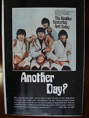 """Beatles: Yesterday and Today """"Butcher"""" Poster"""