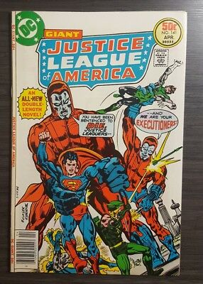 Justice League of America #141 April 1977  Manhunters, Giant-Size