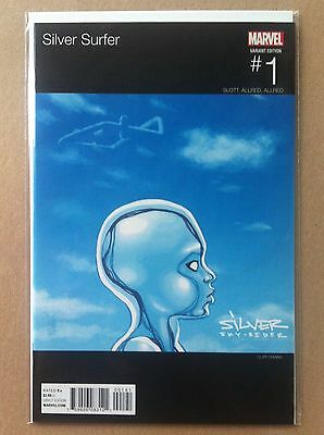 """Silver Surfer (2016) #1 Cliff Chiang """"baby"""" Hip-Hop Variant Nm 1St Print Drake"""