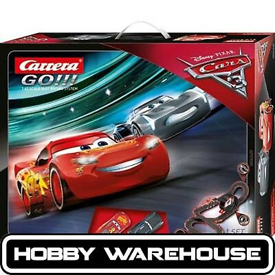 Carrera GO!!! Disney Cars 3 Need to Compete 1:43 Scale Slot Racing Set