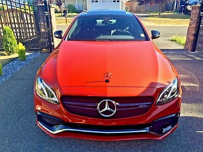 2017 Mercedes-Benz E-Class E 2017 MERCEDES E300, CUSTOM PHOENIX ORANGE, E63 GROUND KIT, 20 ROHANA  SALVAGE