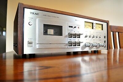 Classic Beauty!! Stunning Teac A-480 Tape Deck!! Works Perfectly Ec!!!
