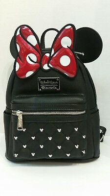 Loungefly Disney Minnie Mouse   Mini Backpack  New