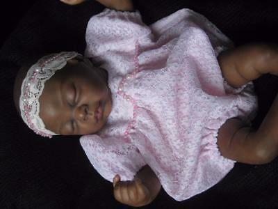OOAK Romper- Fits 14-16 inch Reborn Doll - Hand Made clothing