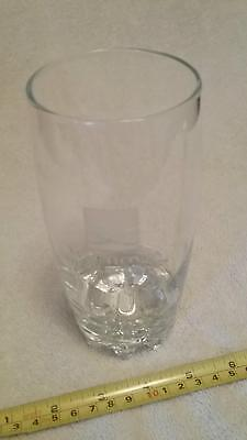 Vintage Wachovia Securities/ now Wells Fargo Bank Etched Logo Drinking Glass