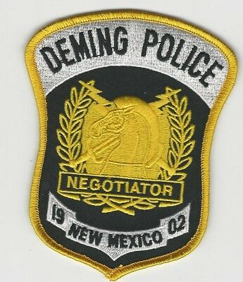CNT Negotiator Patch DEMING Police State of NEW MEXICO NM Shoulder Patch