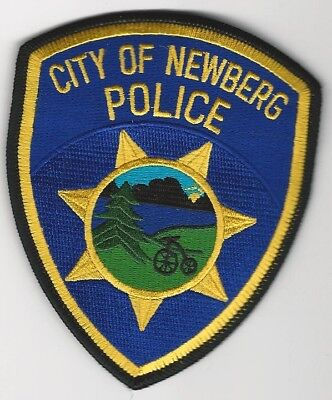 NEWBERG Police State of OREGON OR Shoulder Patch