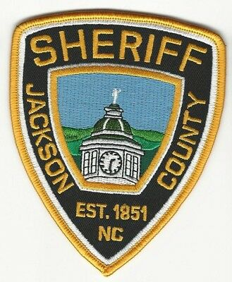 JACKSON County Sheriff State of NORTH CAROLINA NC Shoulder Patch