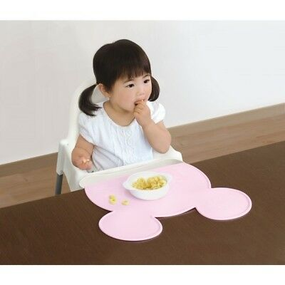 Baby / Kid Silicon Pink Table Mat Disney Minnie NEW Made in Japan