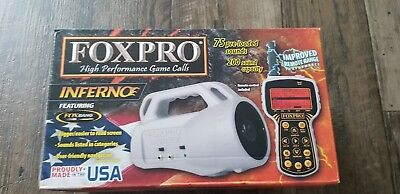 NIB! FoxPro INFERNO 75 Pre-Loaded Sounds 200 Sound Capacity w/Fox Bang - #INF1