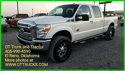 2011 Ford F-250 Lariat 2011 Ford F-250 4wd Lariat Crew Cab Short Bed F250 6.7L Diesel Leather 4x4