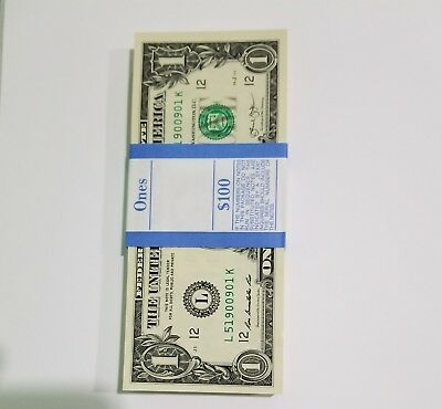 2013 Ca Pack Of 100 One Dollar Mint Collectible (San Francisco)