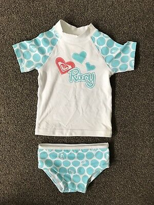 Roxy Size 0 Rashie Swimsuit
