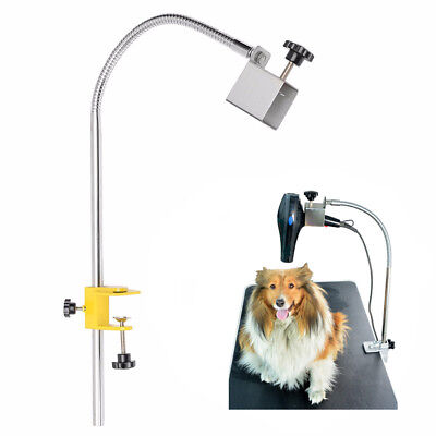 Dog Cat Pet Grooming Table Hair Dryer Clamp Clip Holder Stainless Flexible Stand