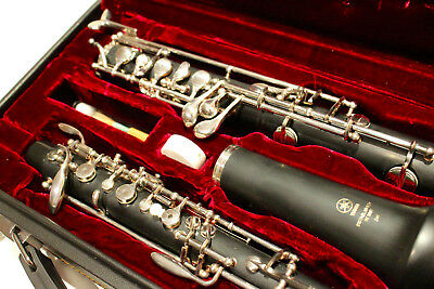 YAMAHA Oboe YOB-241 WITH HARD CASE Near Mint Condition Limited Use!!