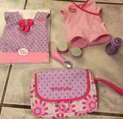 American Girl Bitty Baby Lot Clothes & Acessories New