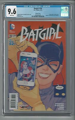 Batgirl #39 Harley Quinn Variant Batman The Killing Joke Homage CGC 9.6 NM+ DC