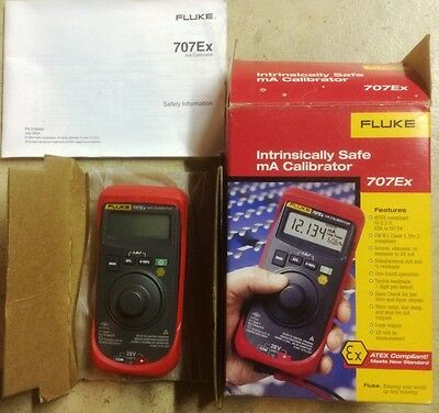 Fluke 707 Ex Intrinsically Safe Loop Calibrator