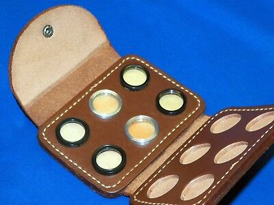 Stereo Realist 3D Film Camera Filter Set COMPLETE in Original Leather Case ST-51