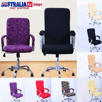 3Size Elastic Office Chair Cover Swivel Computer Slipcover Armchair Antimacassar
