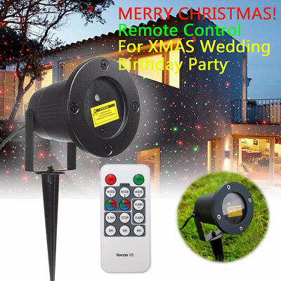 Christmas Laser Fairy Light Projection Outdoor Laser Projector Light Decoration