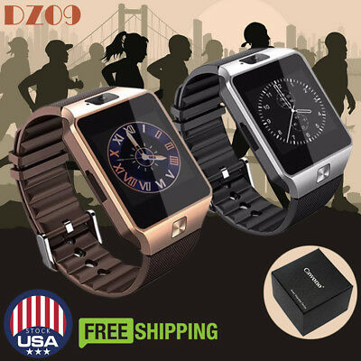 DZ09 Bluetooth Smart Watch Phone Mate GSM SIM For Android Phone Samsung HTC LG