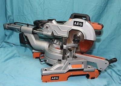 "AEG PS254SB 2000W 10"" Slide Mitre Saw"