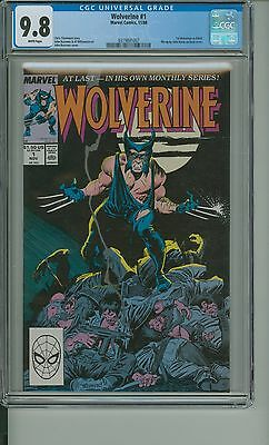 Wolverine 1 CGC 9.8 1988 First Patch as Wolverine Ongoing CBCS @ERComics