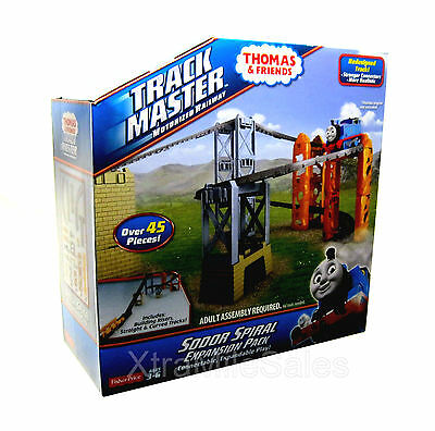 Fisher-Price Track Master Thomas & Friends Sodor Spiral Expansion Pack 45+ Piece
