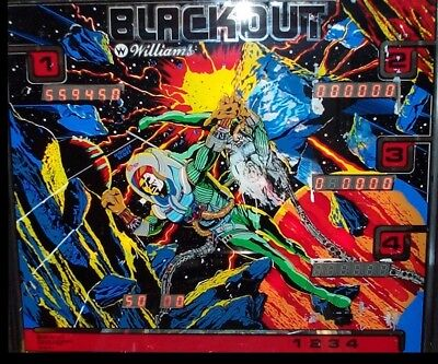 BLACKOUT Pinball Complete LED Lighting Kit SUPER BRIGHT LED