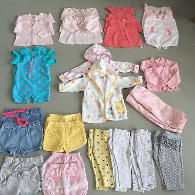 Twin Girls Clothes Bundle Size 0