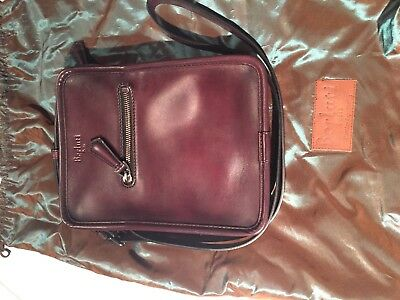 Berluti Journaliste Venezia Leather Saint-Emilion Messenger Bag