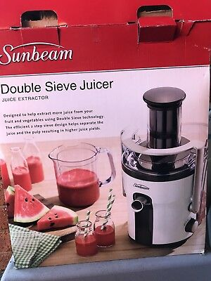 Sunbeam Double Sieve Juicer