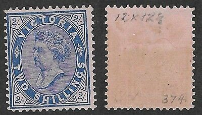 VIC 2/- No POSTAGE Issue Mint  Hinged