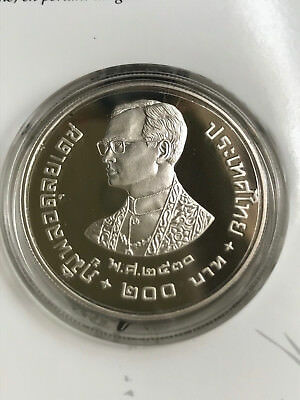 Thailand 1987 Proof Silver Coin
