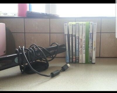 XBox 360 Kinect Sensor Bundle *with 9 games