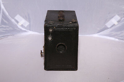 Antique Kodak No.2A Brownie Box Camera - Tested - Shutter Works