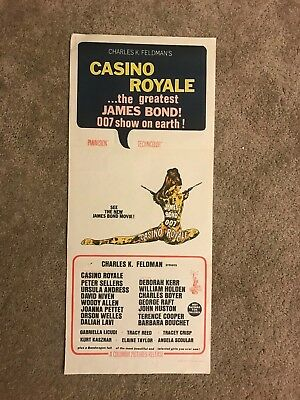 007 Casino Royale (James Bond) original vintage Australian Daybill Movie Poster!