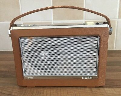 BUSH ANTIQUE RADIO - TR130 - Tested Working