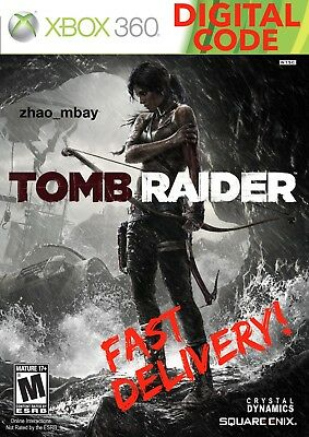 Tomb Raider Xbox 360 Full Game Download FAST Delivery!