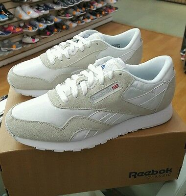 search for authentic price reduced sale uk REEBOK CLASSIC NYLON 6390 White/Light Grey Men Us Sz 9.5 ...