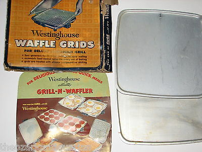 Westinghouse Waffle Grids Deluxe Sandwich Grill FLAT griddle SGWB-521 FREE SH