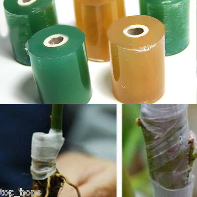 1Pc 20mmx80m Nursery Stretchable Grafting Tape Moisture Barrier Floristry Film