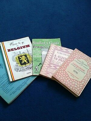 vintage guide books