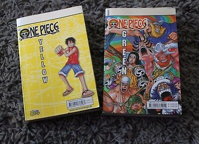 One Piece Yellow und Green - Deutsch