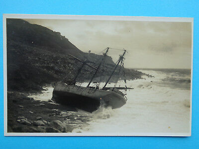 Magdelene  Wrecked Chesil 1930 Early Real Photo Postcard  Mint Cond Un-Posted