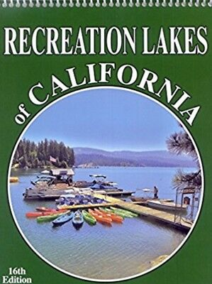 RECREATION LAKES OF CALIFORNIA - 16th Edition NEW Guide Book ~ Camping, Fishing