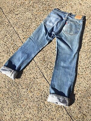 Vintage 70s Levis Red Line 501 Single Stitch Denim Jeans (28 X 30)