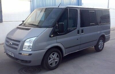 Ford Tourneo 8 seater. Year 2012.Diesel LHD Left Hand Drive in Spain